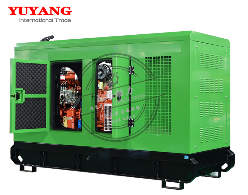 chinese brand 40kw silent generator of diesel engine
