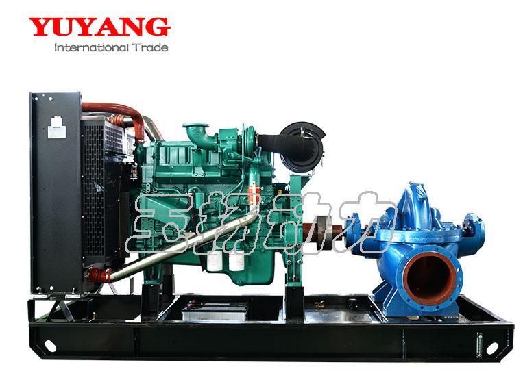 300kw weichai engine water pump diesel generator