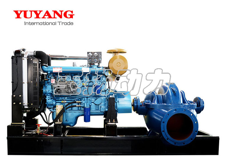 120kw diesel engine centrifugal submersible water pump
